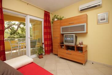 Sali, Dnevna soba v nastanitvi vrste apartment, dostopna klima in WiFi.