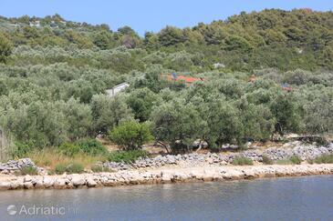 Magrovica - Telašćica, Dugi otok, Объект 8139 - Апартаменты вблизи моря со скалистым пляжем.