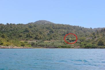 Dragnjevica - Telašćica, Dugi otok, Objekt 8140 - Ubytovanie blízko mora.