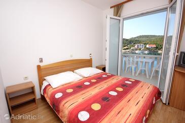 Zaglav, Camera da letto   nell'alloggi del tipo room, condizionatore disponibile, animali domestici ammessi e WiFi.
