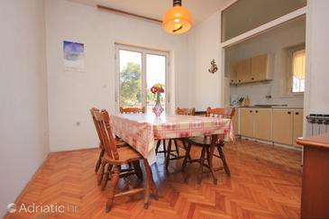 Zaglav, Dining room in the apartment, (pet friendly) and WiFi.