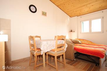 Zaglav, Dining room in the studio-apartment.