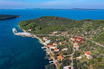 Brbinj, Dugi otok, Objekt 8160 - Ubytování v Chorvatsku.