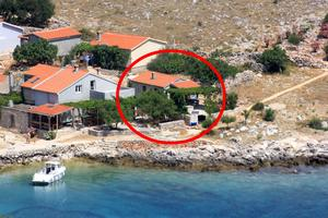 Secluded fisherman's cottage Cove Statival, Kornati - 8164