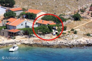 Uvala Statival, Kornati, Property 8164 - Vacation Rentals near sea with sandy beach.