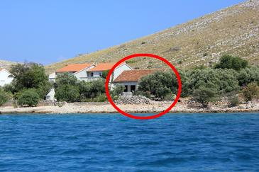 Suha Punta, Kornati, Property 8168 - Vacation Rentals near sea with rocky beach.