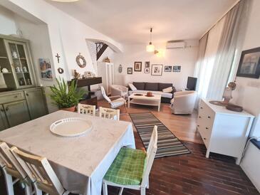 Zaglav, Living room in the apartment, dostupna klima, dopusteni kucni ljubimci i WIFI.