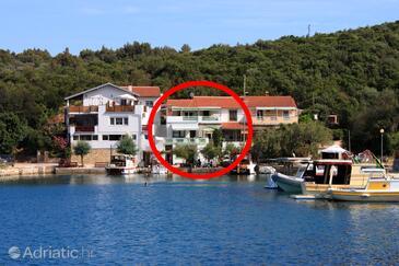 Zaglav, Dugi otok, Objekt 8170 - Ubytování v blízkosti moře.