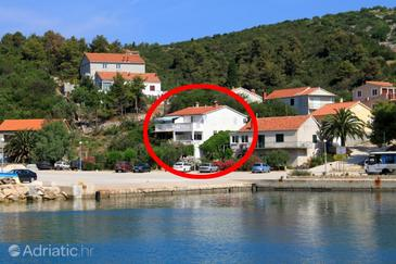 Zaglav, Dugi otok, Property 8171 - Apartments by the sea.