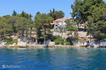 Lavdara, Dugi otok, Objekt 8175 - Kuća za odmor blizu mora.