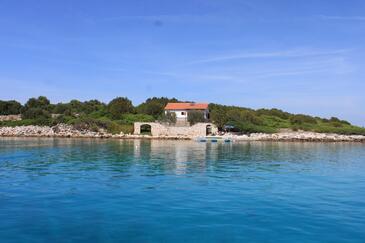 Krknata, Dugi otok, Objekt 8187 – Počitniška hiša v bližini morja.