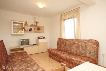 Dragove, Living room in the apartment, dopusteni kucni ljubimci.
