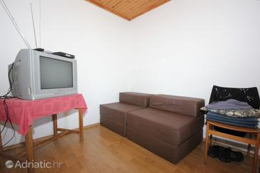 Zaglav, Living room in the apartment, (pet friendly).