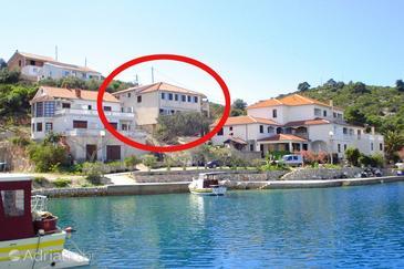 Zaglav, Dugi otok, Property 8191 - Apartments by the sea.