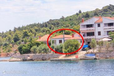 Zaglav, Dugi otok, Property 8192 - Apartments by the sea.