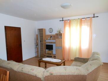 Zaglav, Living room in the apartment, dopusteni kucni ljubimci i WIFI.