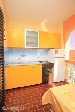 Ždrelac, Kitchen in the apartment, dopusteni kucni ljubimci i WIFI.