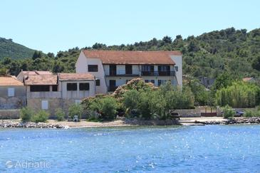 Banj, Pašman, Property 8205 - Apartments near sea with pebble beach.