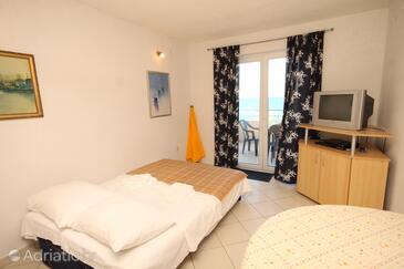Banj, Obývacia izba v ubytovacej jednotke apartment, klimatizácia k dispozícii a WiFi.