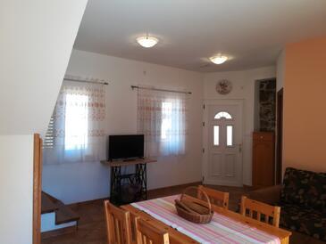 Kukljica, Sala da pranzo nell'alloggi del tipo apartment, WiFi.