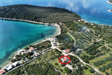 Soline, Pašman, Objekt 8222 - Ubytovanie blízko mora.