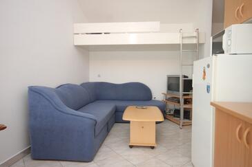 Preko, Dnevna soba v nastanitvi vrste apartment, WiFi.