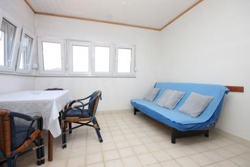 Tkon, Obývací pokoj v ubytování typu apartment, domácí mazlíčci povoleni.