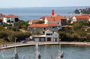 Kali, Ugljan, Szálláshely 8246 - Apartmanok a tenger közelében.