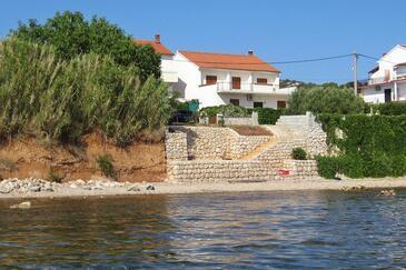 Tkon, Pašman, Property 825 - Apartments near sea with pebble beach.