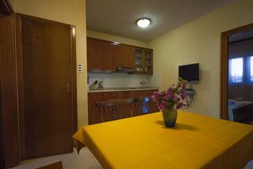Kukljica, Столовая в размещении типа apartment, доступный кондиционер, Домашние животные допускаются и WiFi.