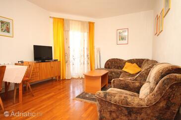Kunčabok, Obývací pokoj v ubytování typu apartment, WiFi.