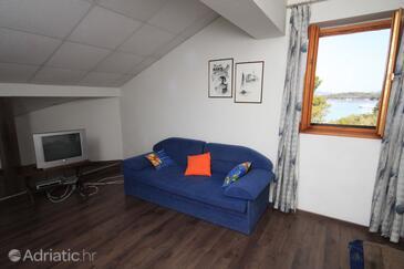 Kunčabok, Obývací pokoj v ubytování typu studio-apartment, WiFi.