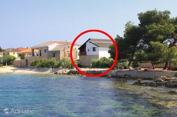 Ugljan, Ugljan, Property 8262 - Apartments near sea with pebble beach.