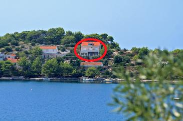 Skrivena Luka, Lastovo, Object 8280 - Appartementen near sea with pebble beach.