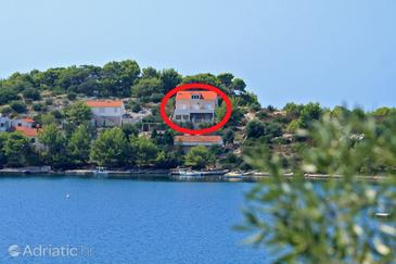 Skrivena Luka, Lastovo, Object 8280 - Appartementen near sea with pebble beach.