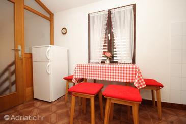 Kukljica, Dining room in the apartment, dopusteni kucni ljubimci.