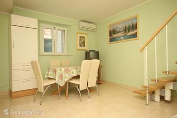 Lastovo, Dining room in the house, dostupna klima i dopusteni kucni ljubimci.