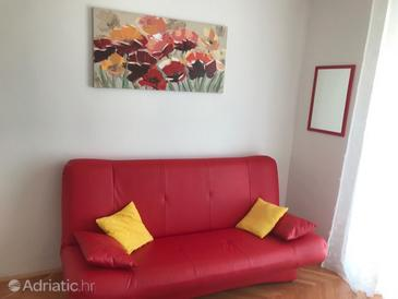 Preko, Гостиная в размещении типа apartment, доступный кондиционер.