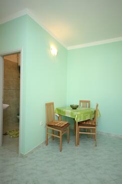 Pašman, Jadalnia w zakwaterowaniu typu studio-apartment, WIFI.