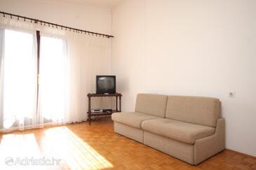Kukljica, Living room in the apartment, dopusteni kucni ljubimci.