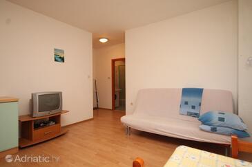Preko, Living room in the apartment, (pet friendly).