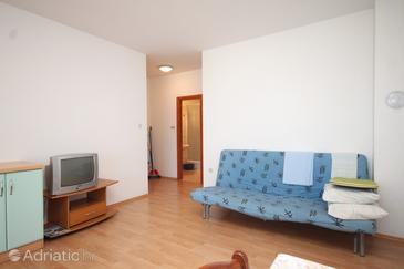 Preko, Living room in the apartment, dopusteni kucni ljubimci.