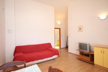 Preko, Obývací pokoj v ubytování typu apartment, domácí mazlíčci povoleni.