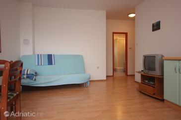 Preko, Гостиная в размещении типа apartment, Домашние животные допускаются.