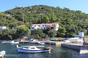 Zaklopatica, Lastovo, Property 8323 - Apartments by the sea.