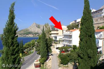 Omiš, Omiš, Property 8334 - Apartments near sea with pebble beach.