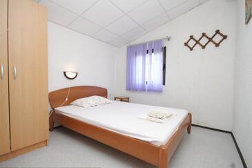 Zaklopatica, Ložnice v ubytování typu room, WIFI.