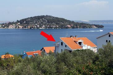 Kali, Ugljan, Objekt 834 – Apartmaji v bližini morja.