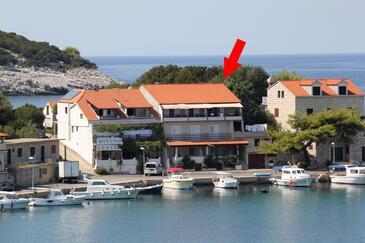 Zaklopatica, Lastovo, Objekt 8341 - Ubytování v blízkosti moře.