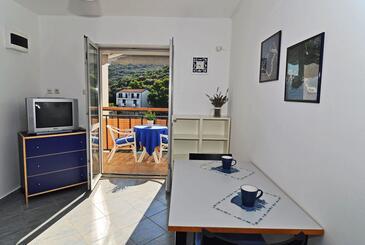 Pasadur, Столовая в размещении типа studio-apartment, доступный кондиционер, Домашние животные допускаются и WiFi.